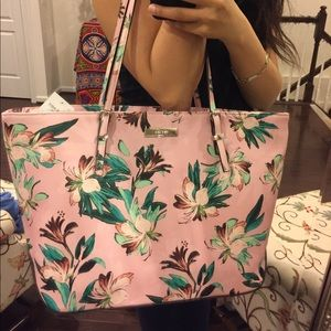 NWT Nine West Floral Pink Shoulder Bag
